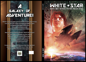 White Star OBS Template 6x9 132 Pages Casebound