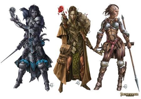 Druids: enigmatic and untrustworthy.